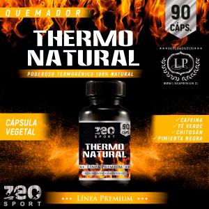Thermo Natural Quemador De Grasas Y Energizante